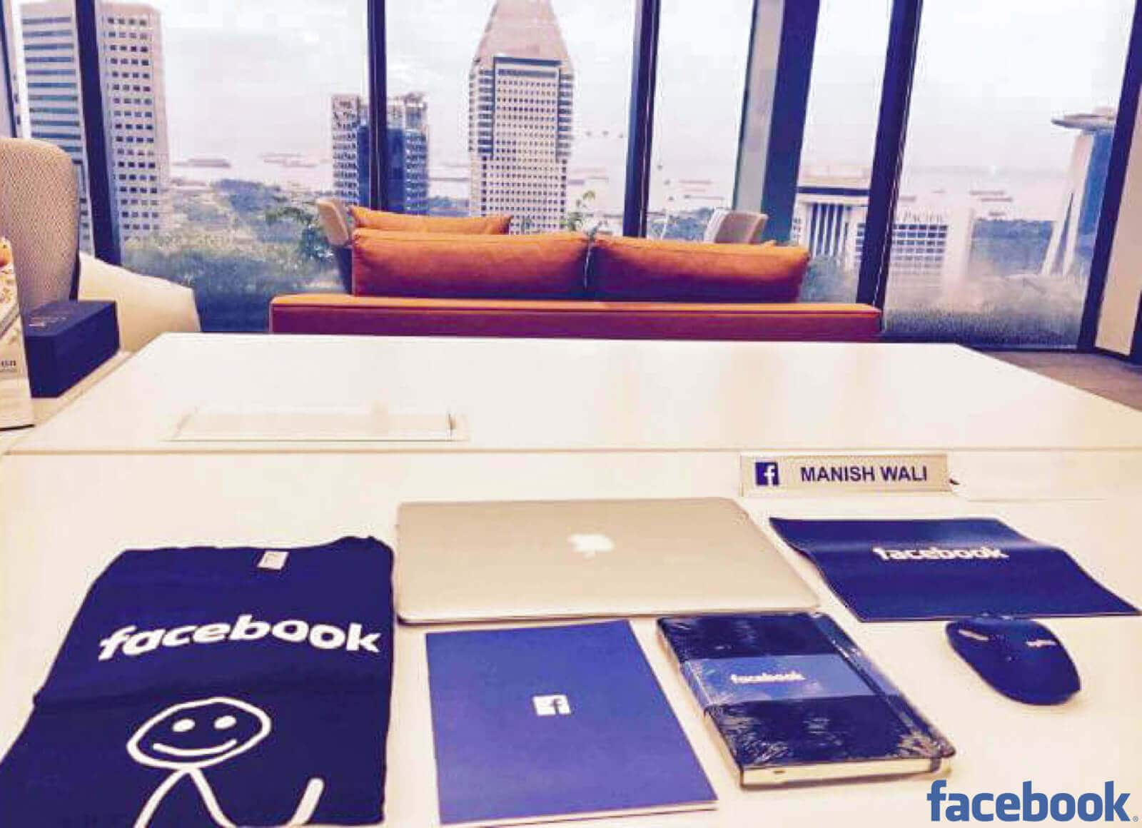 facebook best new hire welcome kit