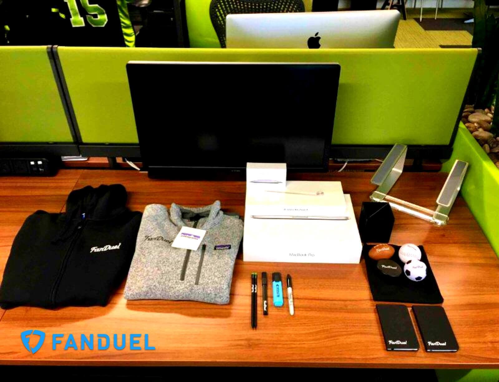 fandual new employee welcome kit example