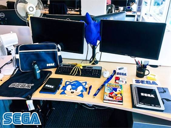 Sega-new-employee-welcome-kit-for-new-hires
