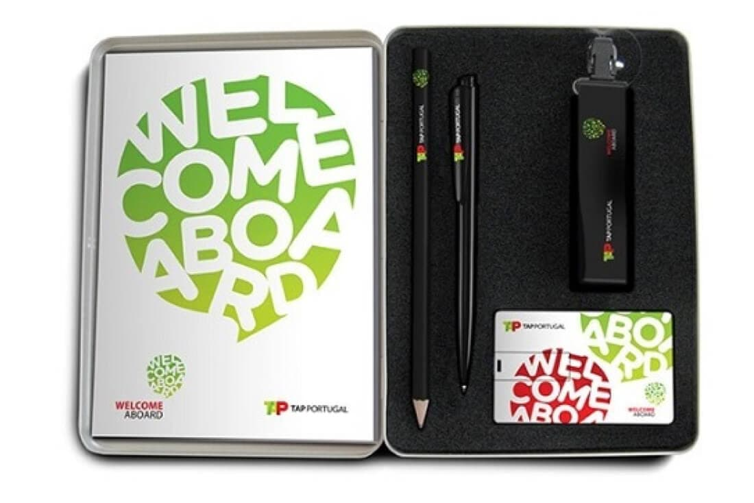 tap portugal onboarding welcome kit