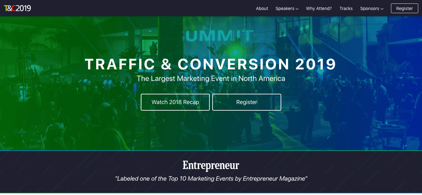 Traffic-and-Conversion Digital Marketing Summit
