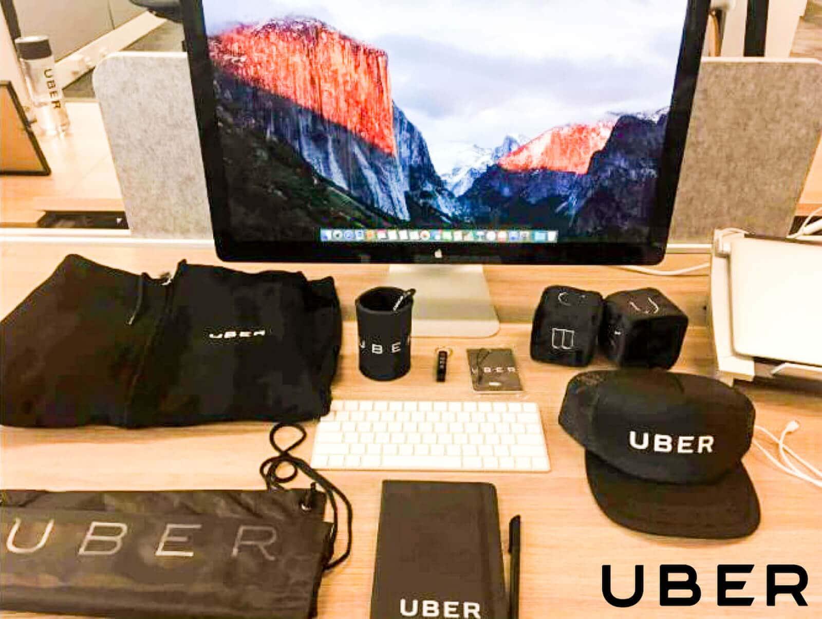 uber-new employee welcome kit example