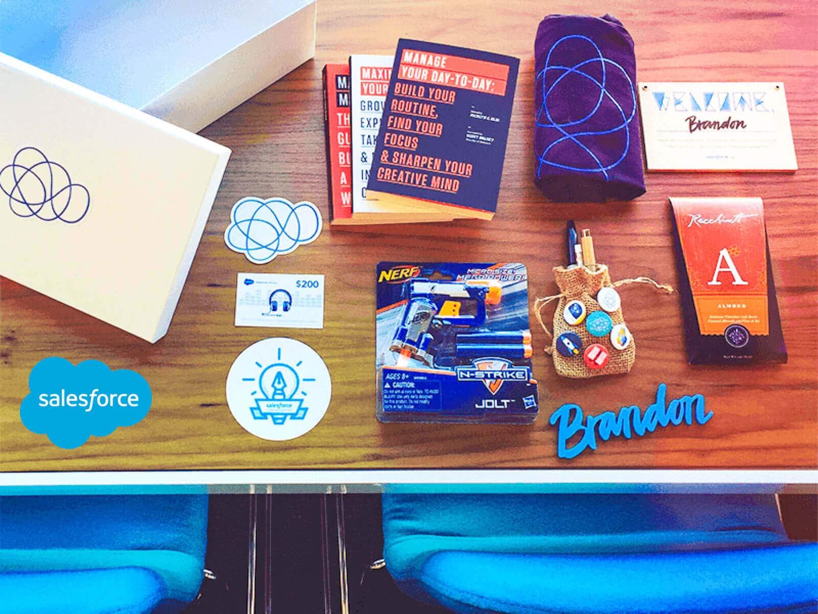 salesforce-new-employee-welcome-kit