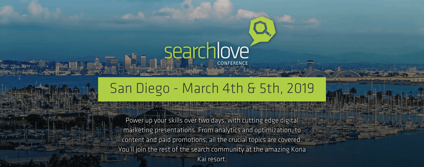 search-love Digital Marketing conference-san-diego