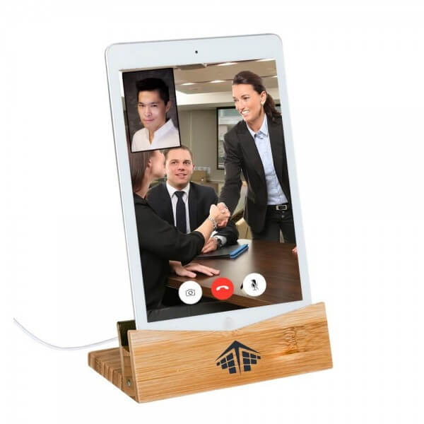 Company-Swag-tchotchkes-Ideas-Branded-Charging-Dock